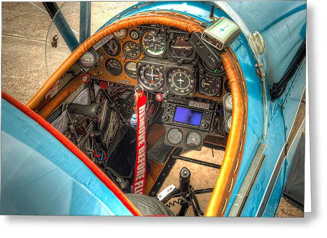 Aviation Greeting Cards - N1G Interior Greeting Card by Tim Stanley