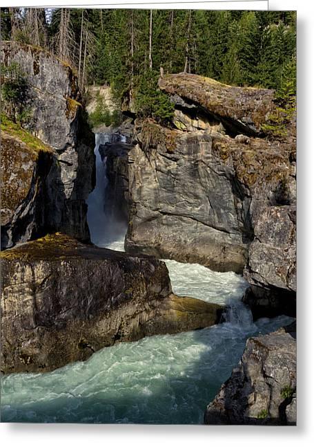 Stream Greeting Cards - Nairn Falls Greeting Card by Kathleen Bishop