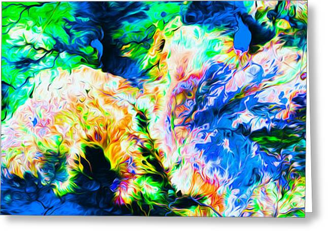 Northern Africa Digital Art Greeting Cards - Namaqualand Africa Greeting Card by Art Gallery Earth