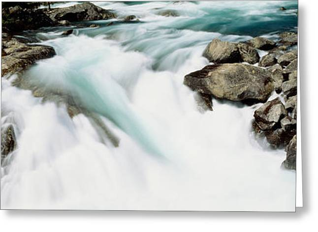 Current River Greeting Cards - Namsen River Norway Greeting Card by Panoramic Images