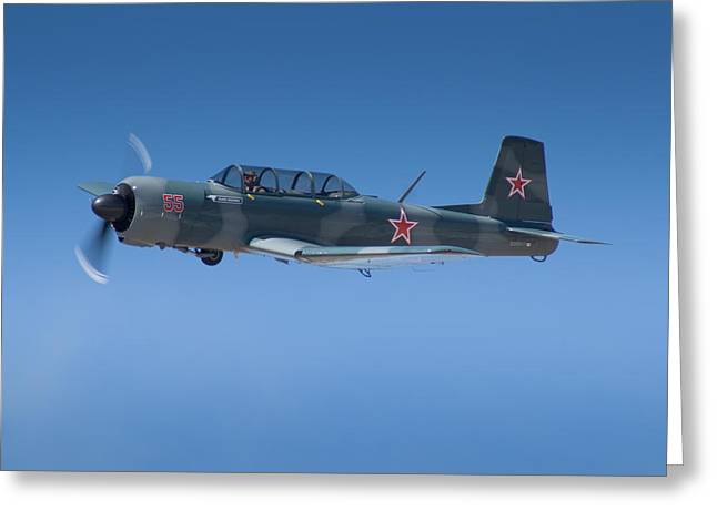 Cj6 Greeting Cards - Nanchang Cj6 Greeting Card by Jon S