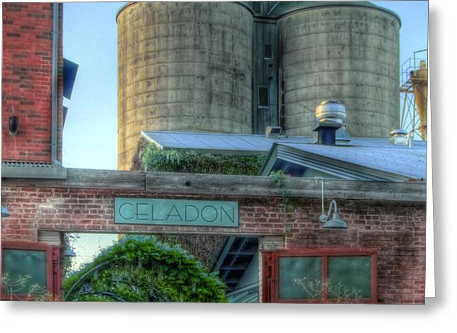 Napa Mill Greeting Card by Bill Gallagher