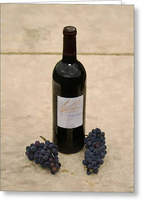 Merlot Greeting Cards - Napa Still Life Greeting Card by Paul Tagliamonte