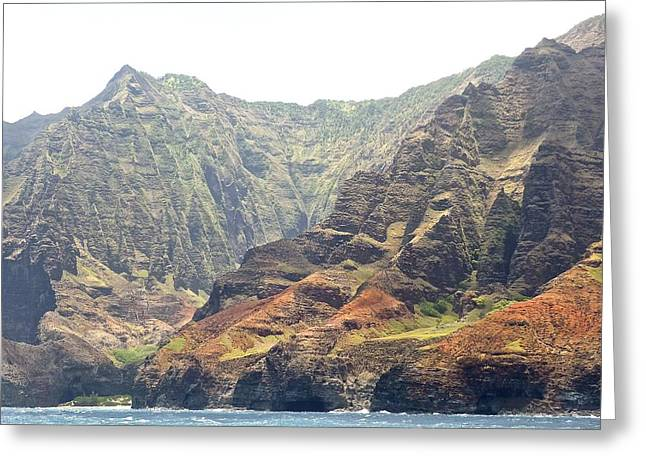 Napali Coast  Greeting Card by Shaun Maclellan