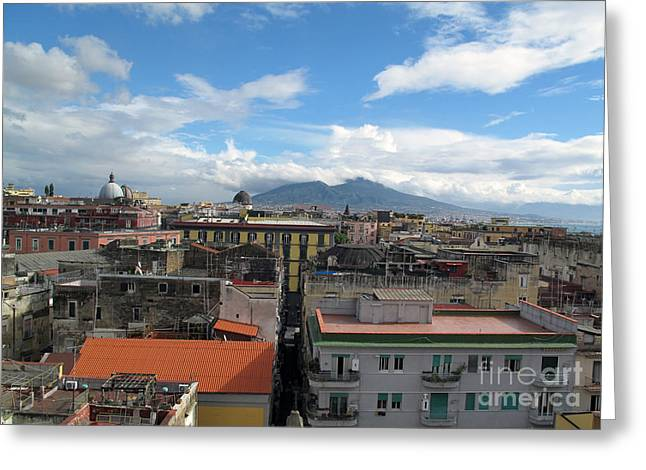 World Destination Photographs Greeting Cards - Naples, Italy Greeting Card by Catherine Ursillo
