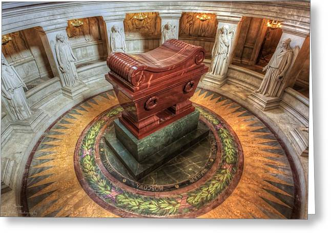Chem Greeting Cards - Napoleons Tomb  Greeting Card by Hany Jadaa  Prince John Photography