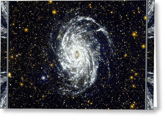 NASA Big Brother to the Milky Way Greeting Card by Rose Santuci-Sofranko