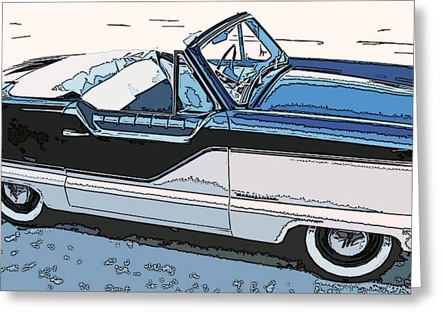 Samuel Sheats Greeting Cards - Nash Metropolitan Series 4 Greeting Card by Samuel Sheats