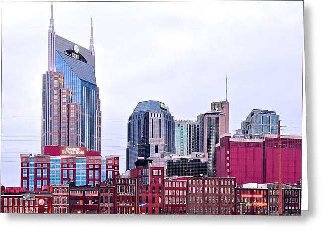 Nashville Greeting Cards - Nashville Close Up Greeting Card by Frozen in Time Fine Art Photography