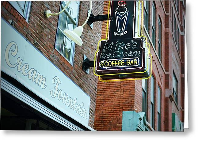 Nashville Downtown Greeting Cards - Nashville on Film Greeting Card by Linda Unger