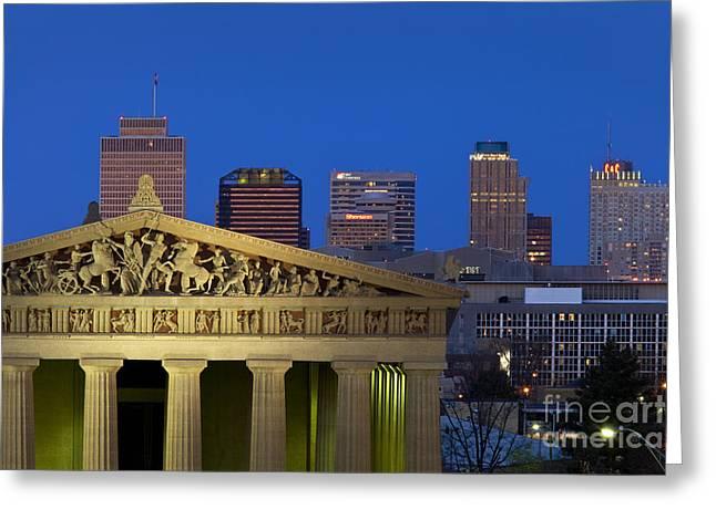 Nashville Parthenon Greeting Card by Brian Jannsen