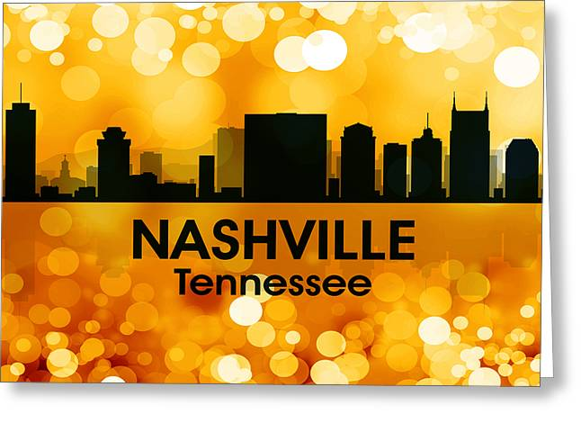 Industrial Icon Greeting Cards - Nashville TN 3 Greeting Card by Angelina Vick