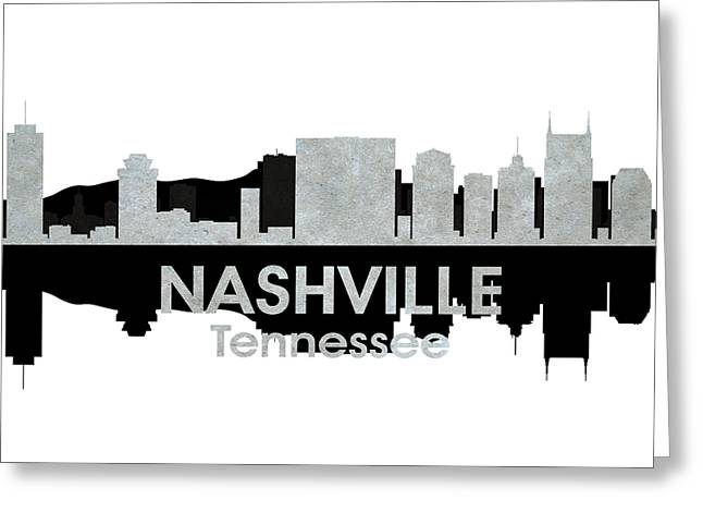 Industrial Icon Greeting Cards - Nashville TN 4 Greeting Card by Angelina Vick