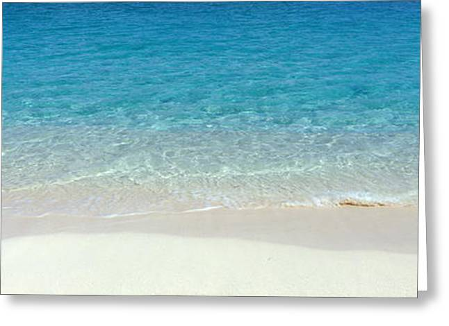 Sand Pattern Greeting Cards - Nassau Bahamas Greeting Card by Panoramic Images