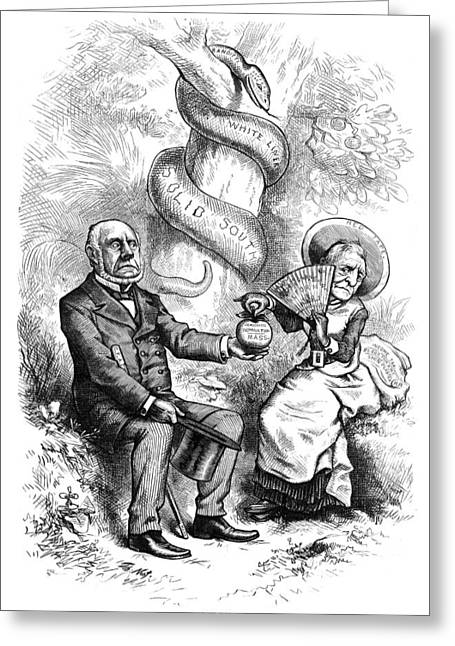 Nast Election, 1876 Greeting Card by Granger
