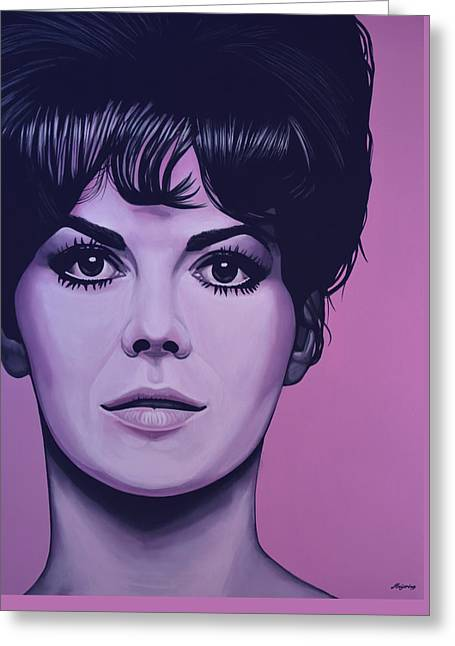 Gypsy Greeting Cards - Natalie Wood Greeting Card by Paul  Meijering
