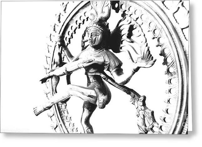 Vineesh Edakkara Greeting Cards - Nataraj Greeting Card by Vineesh Edakkara