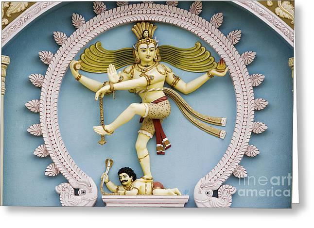 Divine Wisdom Greeting Cards - Nataraja The Cosmic Dancer Greeting Card by Tim Gainey