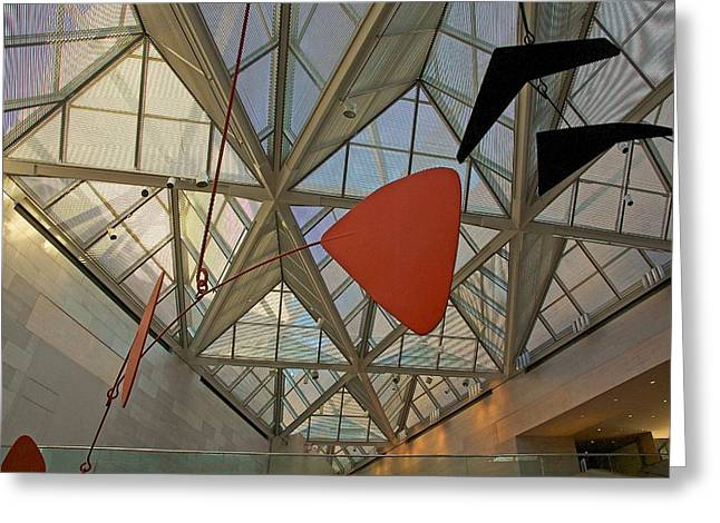 Alexander Calder Greeting Cards - National Gallery of Art  Greeting Card by Stuart Litoff