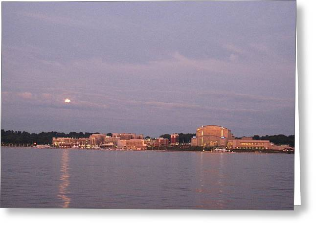 National Harbor - 12125 Greeting Card by DC Photographer