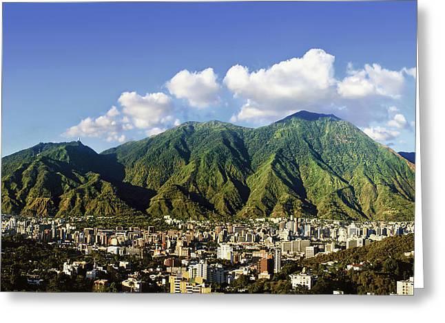 National Park Of El Avila - Caracas - Venezuela Greeting Card by Alejandro Ascanio