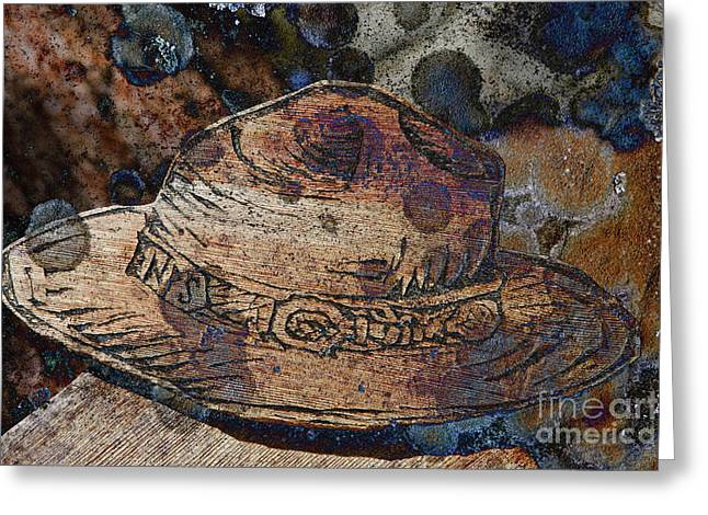 National Park Service Greeting Cards - National Park Service Ranger Hat Greeting Card by John Stephens