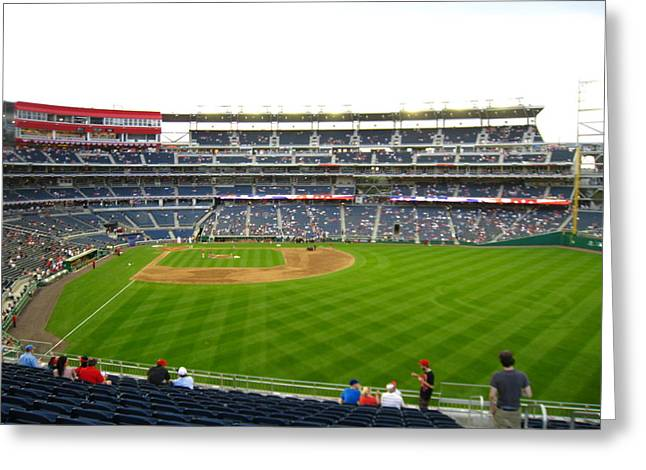 Nationals Park - 01132 Greeting Card by DC Photographer