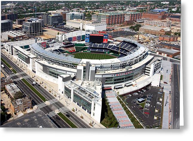 Highsmith Greeting Cards - Nationals Park Greeting Card by Carol Highsmith