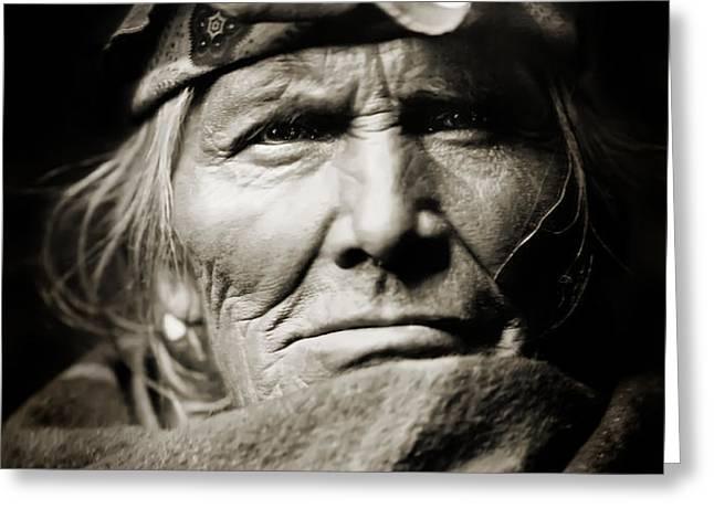 Native American Zuni -  Si Wa Wata Wa  Greeting Card by The  Vault - Jennifer Rondinelli Reilly