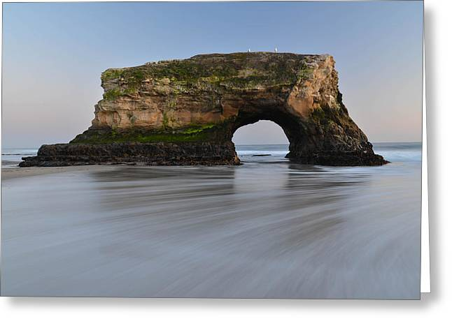 Natural Bridges Greeting Card by About Light  Images