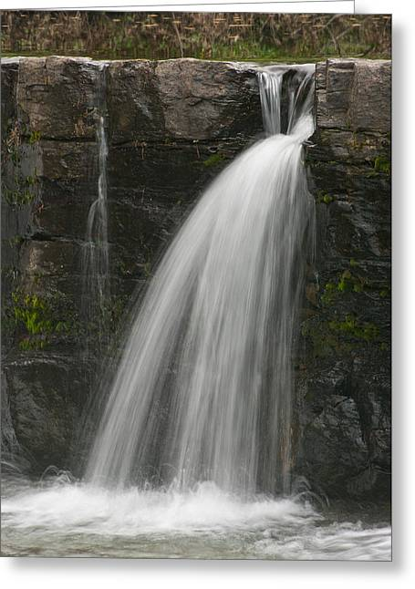 Natural Dam Arkansas Greeting Cards - Natural Dam - 9891 Greeting Card by Jerry Owens