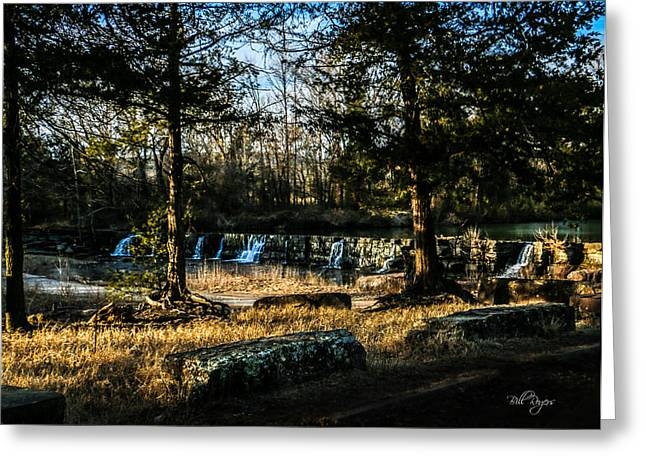 Natural Dam Arkansas Greeting Cards - Natural Dam Arkansas Greeting Card by Bill Rogers