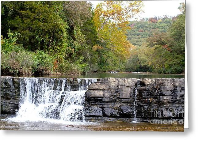 Natural Dam Arkansas Greeting Cards - Natural Dam Greeting Card by Robin Erisman
