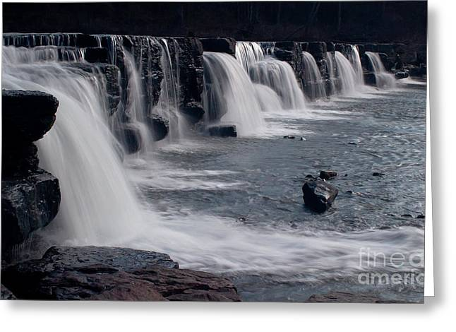Natural Dam Arkansas Greeting Cards - Natural Dam Greeting Card by Tammy Chesney