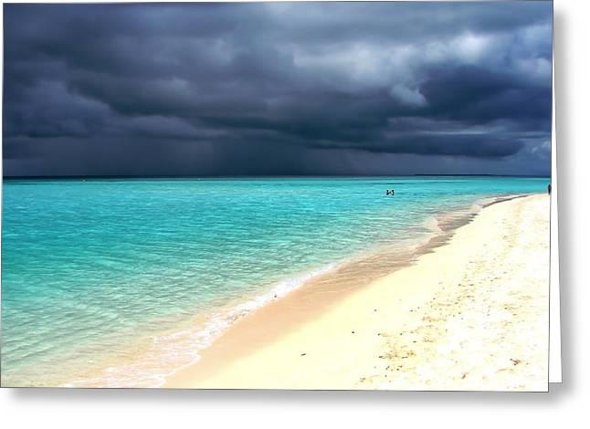 Maldivian Greeting Cards - Natural Drama Greeting Card by Jenny Rainbow