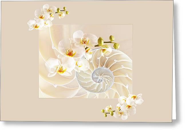 Nature Fusion Greeting Cards - Natural Fusion Greeting Card by Gill Billington