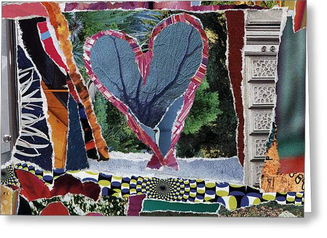 natural love Greeting Card by Kenneth James
