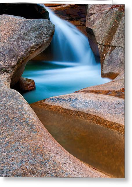 Abstract Nature Greeting Cards - Natural Sculpture - Basin Formations Greeting Card by Thomas Schoeller