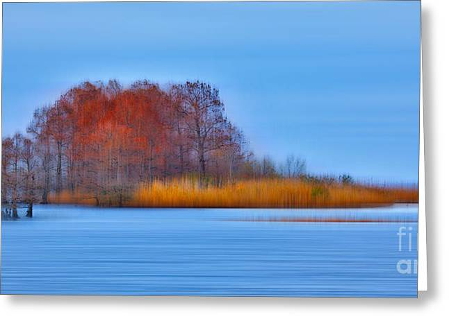 Paint Photograph Photographs Greeting Cards - Natural Wonder - a Tranquil Moments Landscape Greeting Card by Dan Carmichael