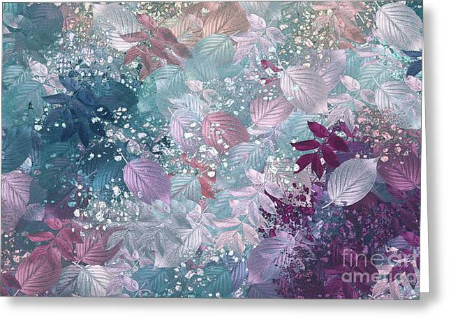 Naturaleaves - s1002b Greeting Card by Variance Collections