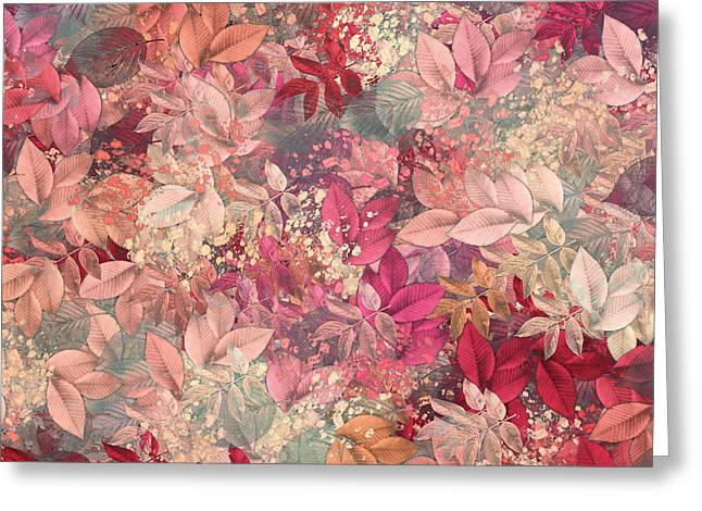 Naturaleaves - s65b Greeting Card by Variance Collections