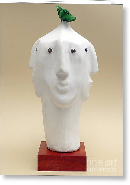Innocence Sculptures Greeting Cards - Nature of Innocence   Greeting Card by Osiris OConnor