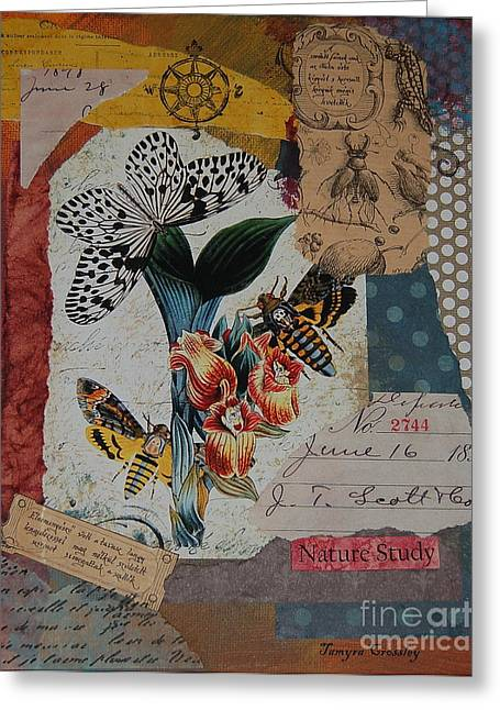 Nature Study Greeting Card by Tamyra Crossley