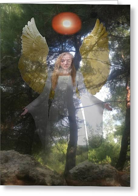 Ellenisworkshop Greeting Cards - Natures Angel Greeting Card by Eric Kempson