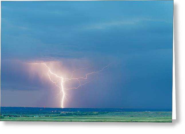 Storm Prints Photographs Greeting Cards - Natures Avenging Spirit  Greeting Card by James BO  Insogna