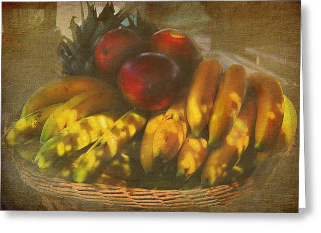 Fruit Tree Art Greeting Cards - Natures Bounty Greeting Card by Kandy Hurley