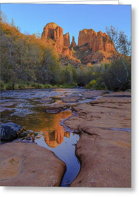 Errosion Greeting Cards - Natures Cathedral Greeting Card by Scott Campbell