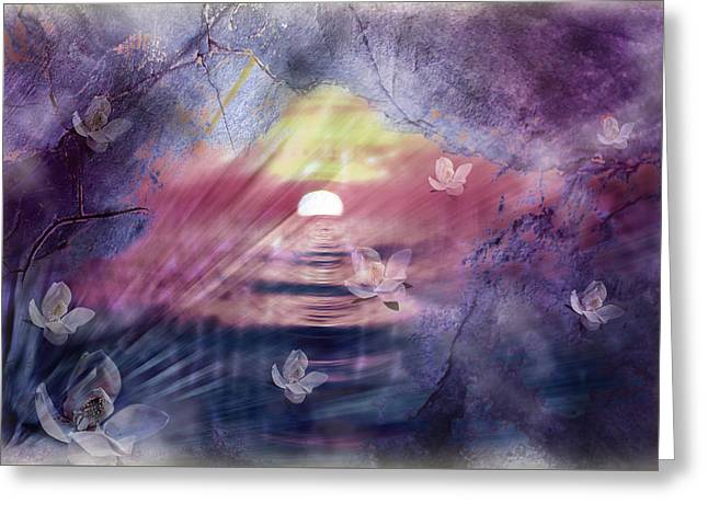 Creative Manipulation Greeting Cards - Natures Dimenensions 2 Greeting Card by Janie Johnson