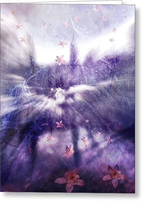 Creative Manipulation Greeting Cards - Natures Dimensions 1 Greeting Card by Janie Johnson