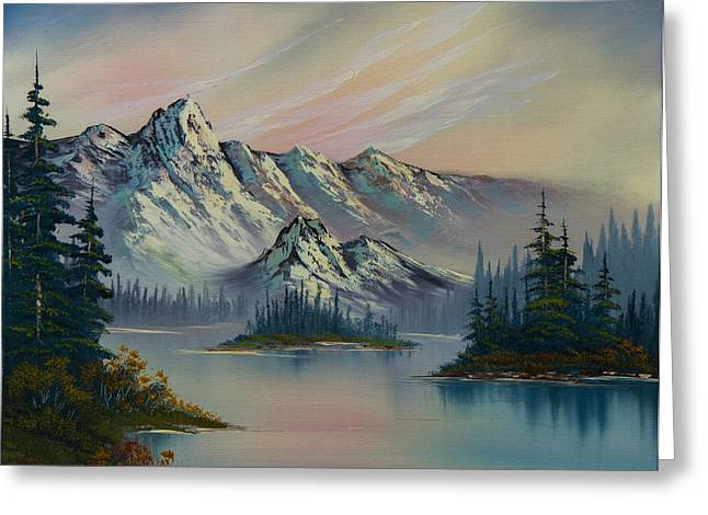 Bob Ross Paintings Greeting Cards - Natures Elegance Greeting Card by C Steele